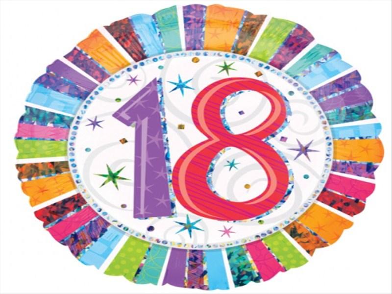18års fødselsdag