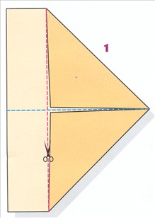 foldning af papirfly